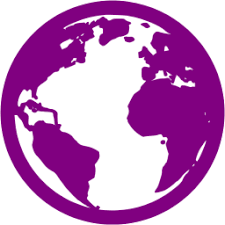 Image result for purple globe